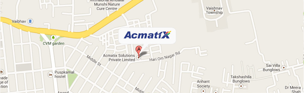 Acmatix solutions map